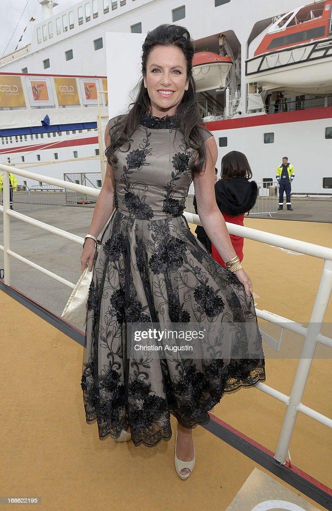 Christine Neubauer attends the charity event 'Die Goldene Deutschland' at MS Deutschland on May 12, 2013 in Hamburg, Germany.