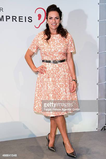 Christine Neubauer attends the Deutscher Hoerfilmpreis 2015 at Deutsche Bank on March 17 2015 in Berlin Germany