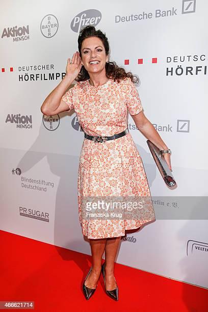 Christine Neubauer attends the Deutscher Hoerfilmpreis 2015 on March 17 2015 in Berlin Germany
