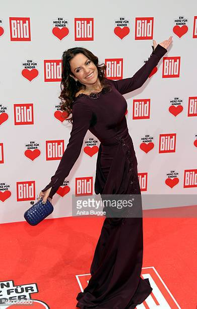 Christine Neubauer attends the Ein Herz Fuer Kinder Gala 2014 at Tempelhof Airport on December 6 2014 in Berlin Germany
