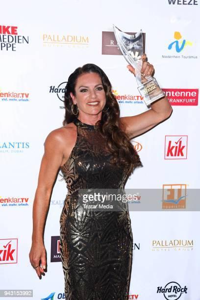 Christine Neubauer attends the 'Goldene Sonne 2018' Award by SonnenklarTV on April 7 2018 in Kalkar Germany