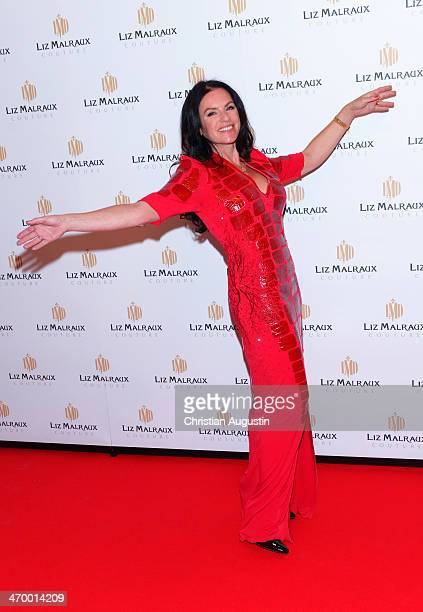 Christine Neubauer attends the Liz Malraux Fashion Show at Hotel Atlantic on February 17 2014 in Hamburg Germany