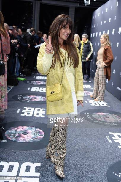 Christine Neubauer attends the Riani fashion show during the Berlin Fashion Week Autumn/Winter 2019 at ewerk on January 16 2019 in Berlin Germany