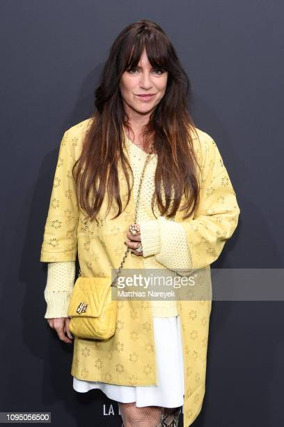 Christine Neubauer attends the Riani show during the Berlin Fashion Week Autumn/Winter 2019 at ewerk on January 16 2019 in Berlin Germany