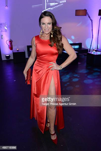 Christine Neubauer attends the SPECTRE by ST Dupont launch event on November 4 2015 in Berlin Germany
