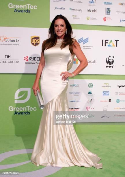 Christine Neubauer auf den GreenTec Awards 2015 im Velodrom Berlin am