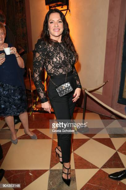 Christine Neubauer during the new year reception of the Bavarian state government at Residenz on January 12 2018 in Munich Germany