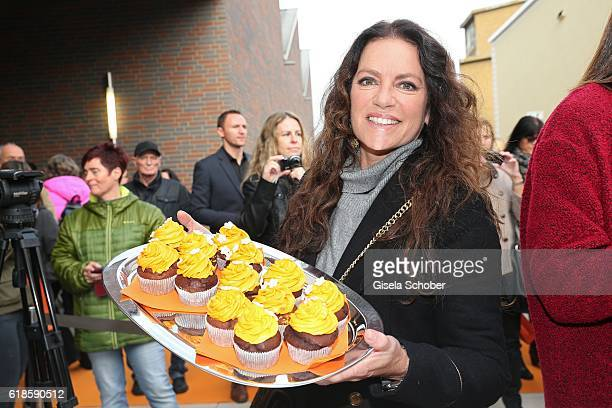 Christine Neubauer during the opening of the City Outlet Geislingen on October 27 2016 in Geislingen Germany