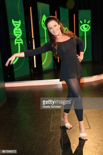 Christine Neubauer during the photo call of 'Gesundheit Die Show' on October 28 2017 at Arri Studio in Munich Germany