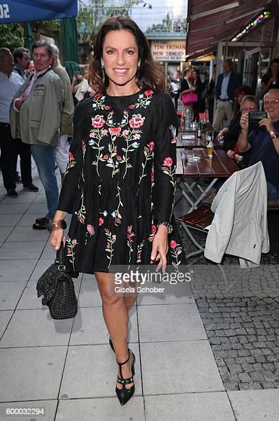 Christine Neubauer during the preview for the series 'Moni's Grill' at 'Atelier' cinema on September 7 2016 in Munich Germany