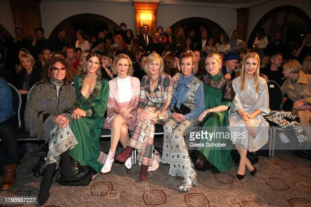 Christine Neubauer, Isabell Horn, Pia-Micaela Barucki, Gesine Cukrowski, Nele Kiper, Tamara von Nayhauss and Tanja Buelter during the Marcel Ostertag...