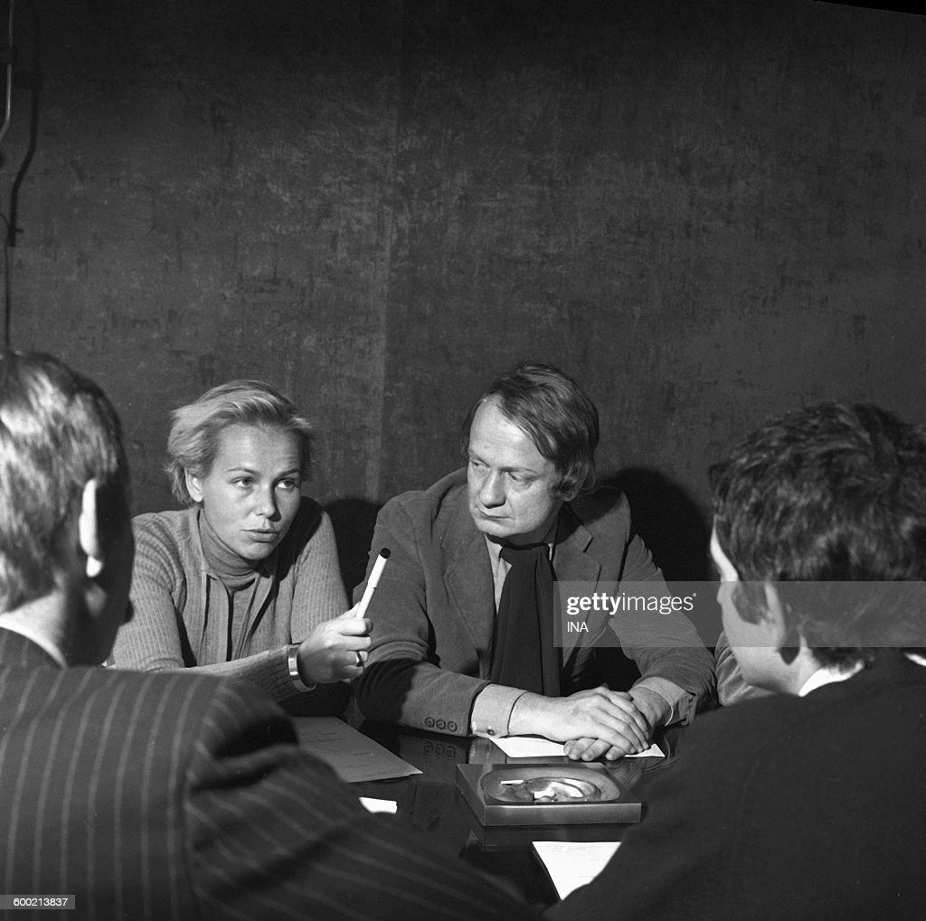 Maurice Cazeneuve and his team : News Photo