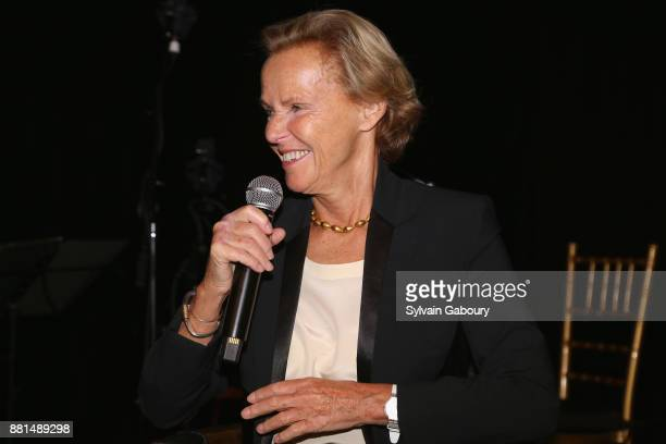 Christine Ockrent attends French American Foundation Annual Gala 2017 at Gotham Hall on November 28 2017 in New York City