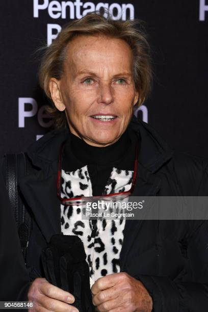Christine Ockrent attends 'Pentagon Papers' Premiere at Cinema UGC Normandie on January 13 2018 in Paris France