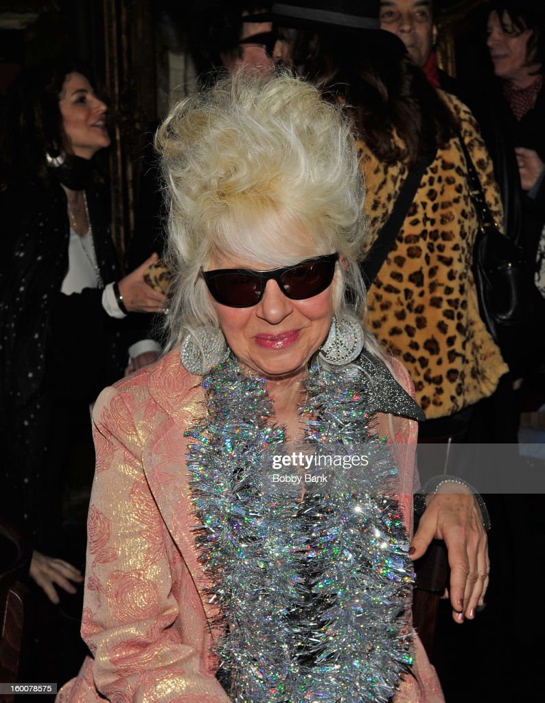 Christine Ohlman performs at The Cutting Room on January 25, 2013 in New York, New York.