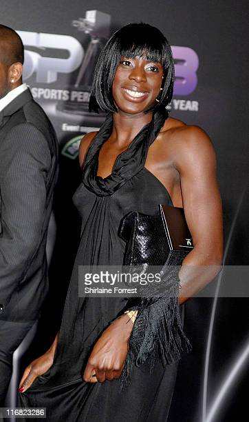 Christine Ohuruogu attends the BBC Sports Personality of the Year awards at the Liverpool Echo Arena on December 14 2008 in Liverpool England