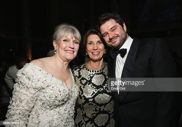 Christine Oliver Pamela Fiori and Luca Dotti attend the 11th Annual UNICEF Snowflake Ball Honoring Orlando Bloom Mindy Grossman And Edward G Lloyd at...
