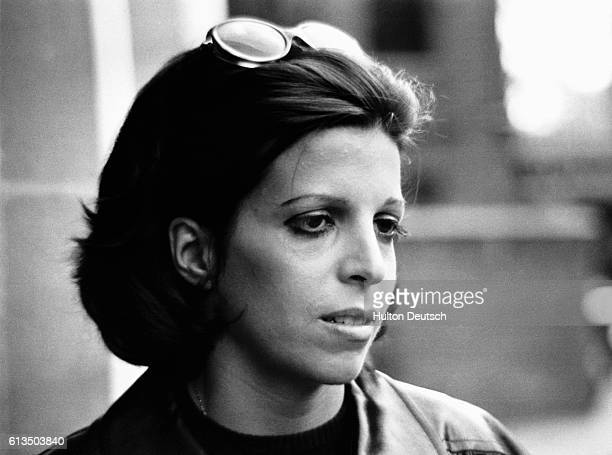 Christine Onassis, daughter of Aristotle the Greek shipping magnate, 1975.