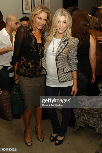 Christine Peters and Caleigh Peters attend Hip Hollywood Homes Book Launch at Blackman Cruz on September 21 2006