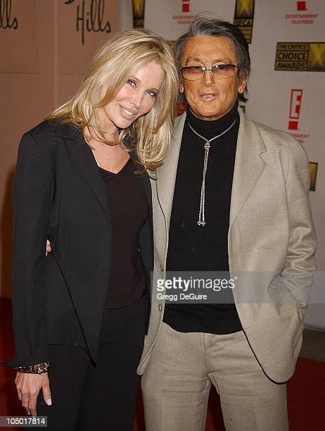 Christine Peters and Robert Evans during The 8th Annual Critics' Choice Awards Beverly Hills at Beverly Hills Hotel in Beverly Hills California...