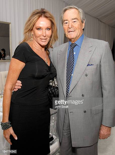 Christine Peters and Seth Baker during Chanel Fine Jewelry Dinner to Celebrate Les Perles de Chanel at Private Residence in Beverly Hills California...