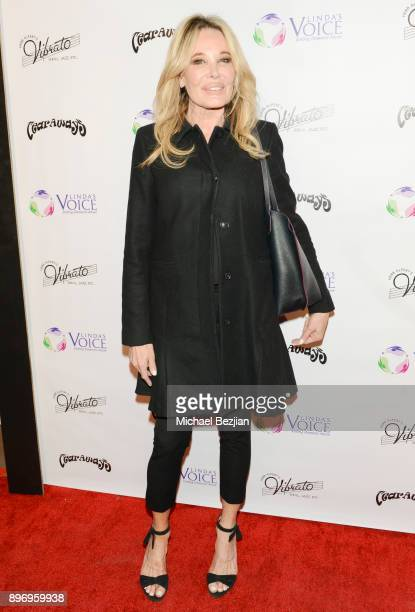 Christine Peters arrives to Linda's Voice Foundation Winter Of Love Charity Fundraiser at Herb Alpert's Vibrato Grill Jazz on December 21 2017 in Los...