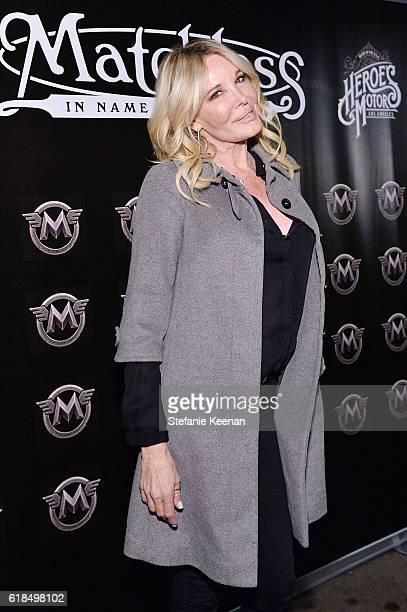 Christine Peters attends Matchless London Launch In LA at Matchless London on October 26 2016 in Los Angeles California