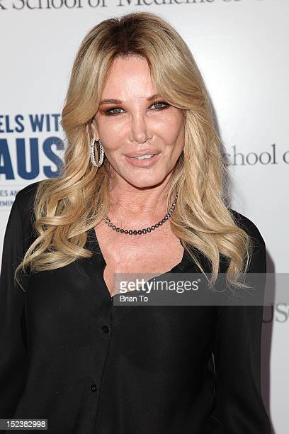 Christine Peters attends USC Center for Applied Molecular Medicine's Rebels With A Cause Gala at Four Seasons Hotel Los Angeles at Beverly Hills on...