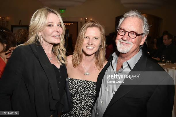 Christine Peters Jamie Joseph and Thomas D Mangelsen attend the Elephant Action League Los Angeles Benefit Auction at The Montage on June 1 2017 in...