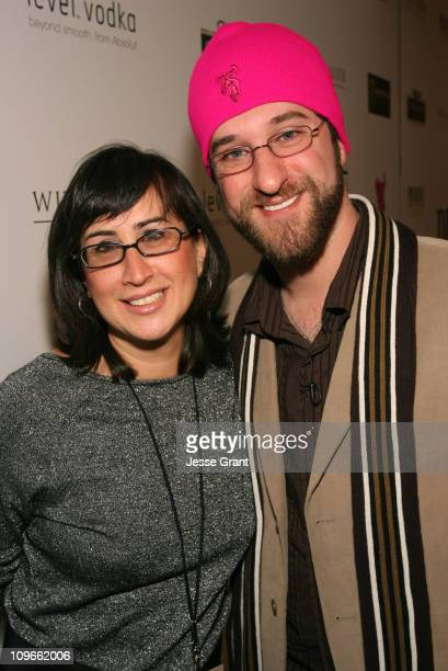 Christine Petrillo and Dustin Diamond during 2007 Park City Premiere Magazine Film and Music Lounge and LIVEstyle Entertainment Host The 'Snow...