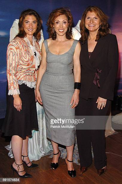 Christine Piccola Maggie Ciafardini and Charlene Holt attend The Launch of Alexander McQueen's new Women's Fragrance MY QUEEN hosted by Maggie...