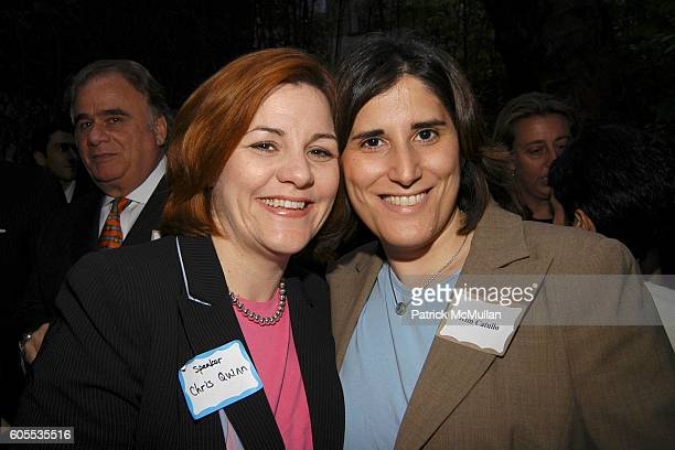 Christine Quinn and Kim Catullo attend Jonathan Sheffer and Dr. Christopher Barley Benefit party for Candidates Ted Strickland for , Lee Fisher for...