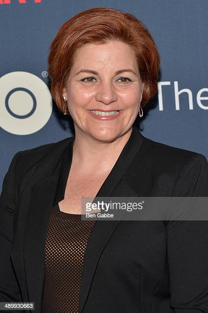 Christine Quinn attends the New York premiere of 'The Normal Heart' at Ziegfeld Theater on May 12 2014 in New York City
