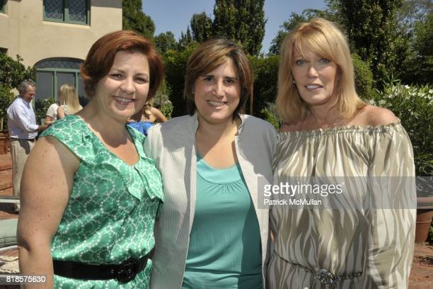 Christine Quinn Kim Catullo and Chris Taylor attend Halle Berry Ronald Perelman and REVLON host a luncheon for The JENESSE CENTER at Private...
