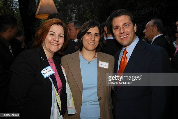 Christine Quinn Kim Catullo and Eric Gioia attend Jonathan Sheffer and Dr Christopher Barley Benefit party for Candidates Ted Strickland for Lee...