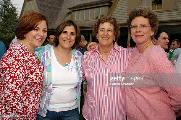 Christine Quinn Kim Catullo Bonnie Gilbert and Patricia Lancaster attend School's Out Benefiting the HetrickMartin Institute at East Hampton on June...