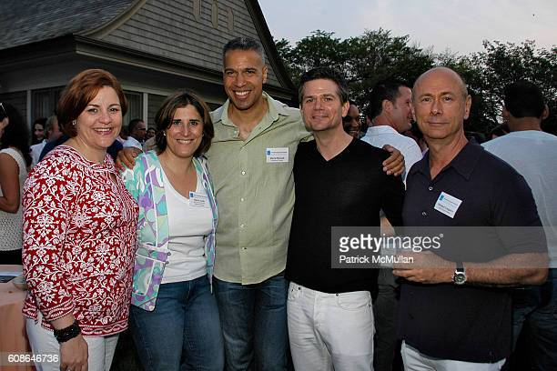 Christine Quinn Kim Catullo David Mensah O'Brien Kelley and Michael Longacre attend School's Out Benefiting the HetrickMartin Institute at East...