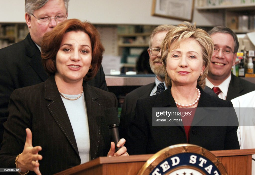 Christine Quinn, Speaker of the New York City Council and Senator Hillary Clinton