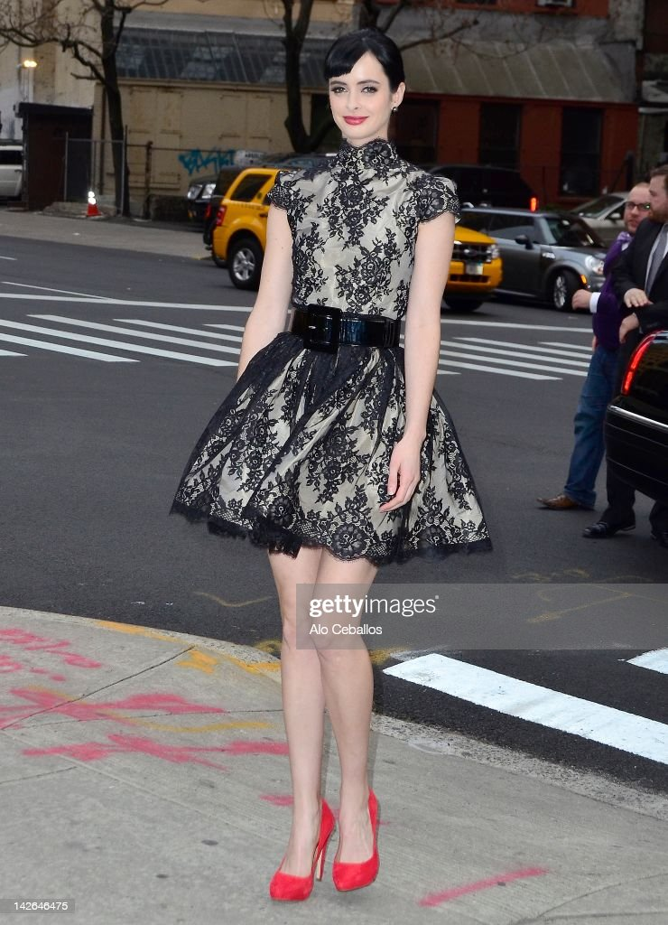 Celebrity Sightings In New York City - April 10, 2012 : News Photo