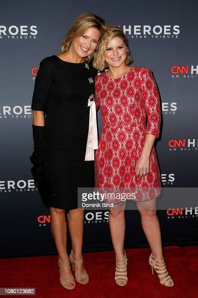 Christine Romans and Kate Bolduan attend the 12th Annual CNN Heroes An AllStar Tribute at American Museum of Natural History on December 09 2018 in...