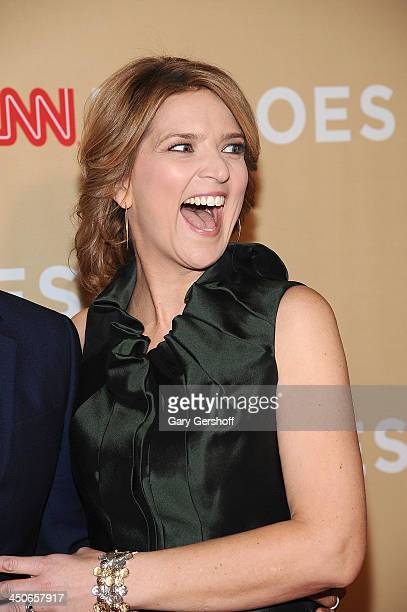 Christine Romans attends the 2013 CNN Heroes An All Star Tribute at The American Museum of Natural History on November 19 2013 in New York City