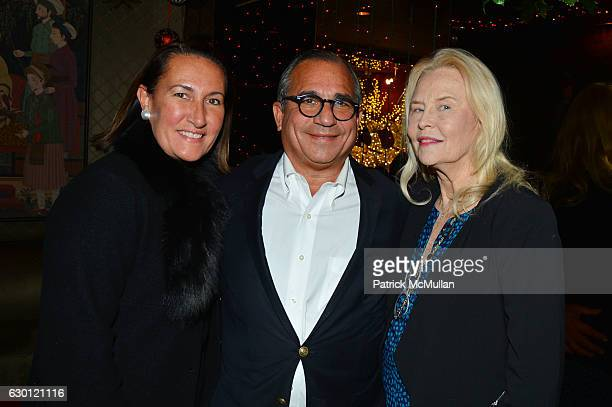 Christine Schott Leeds George Ledes and Cornelia Sharpe Bregman attend George Farias Anne and Jay McInerney Host A Christmas Cheer Holiday Party 2016...