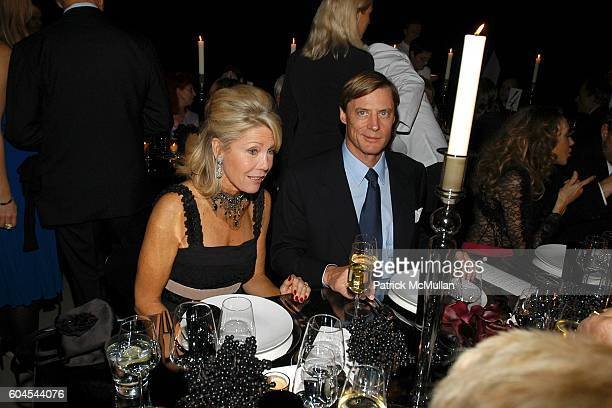 Christine Schwarzman and Shelby Bryan attend LOUIS VUITTON Private Dinner for OLAFUR ELIASSON at LOUIS VUITTON on Fifth Avenue on November 9 2006 in...