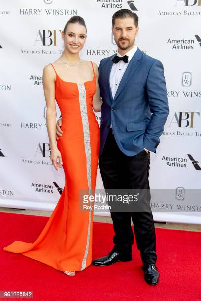 Christine Shevchenko and Alex DiMattia attends the 2018 American Ballet Theatre Spring Gala at The Metropolitan Opera House on May 21 2018 in New...