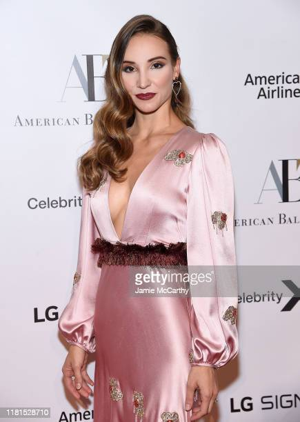 Christine Shevchenko attends the American Ballet Theatre 2019 Fall Gala at David H Koch Theater at Lincoln Center on October 16 2019 in New York City