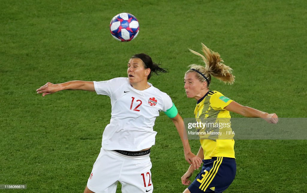 Sweden v Canada: Round Of 16  - 2019 FIFA Women's World Cup France : News Photo