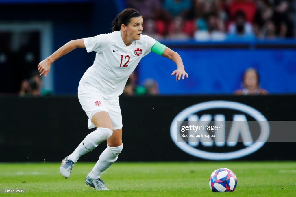 Sweden  v Canada  -World Cup Women : News Photo