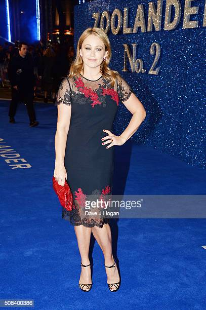 Christine Taylor attends a Fashionable Screening of the Paramount Pictures film Zoolander No 2 at Empire Leicester Square on February 4 2016 in...
