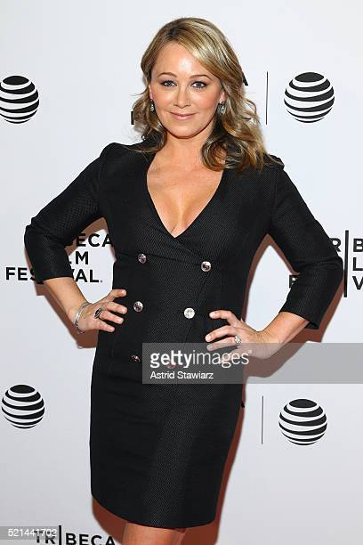 Christine Taylor attends Little Boxes Premiere 2016 Tribeca Film Festival at Chelsea Bow Tie Cinemas on April 15 2016 in New York City