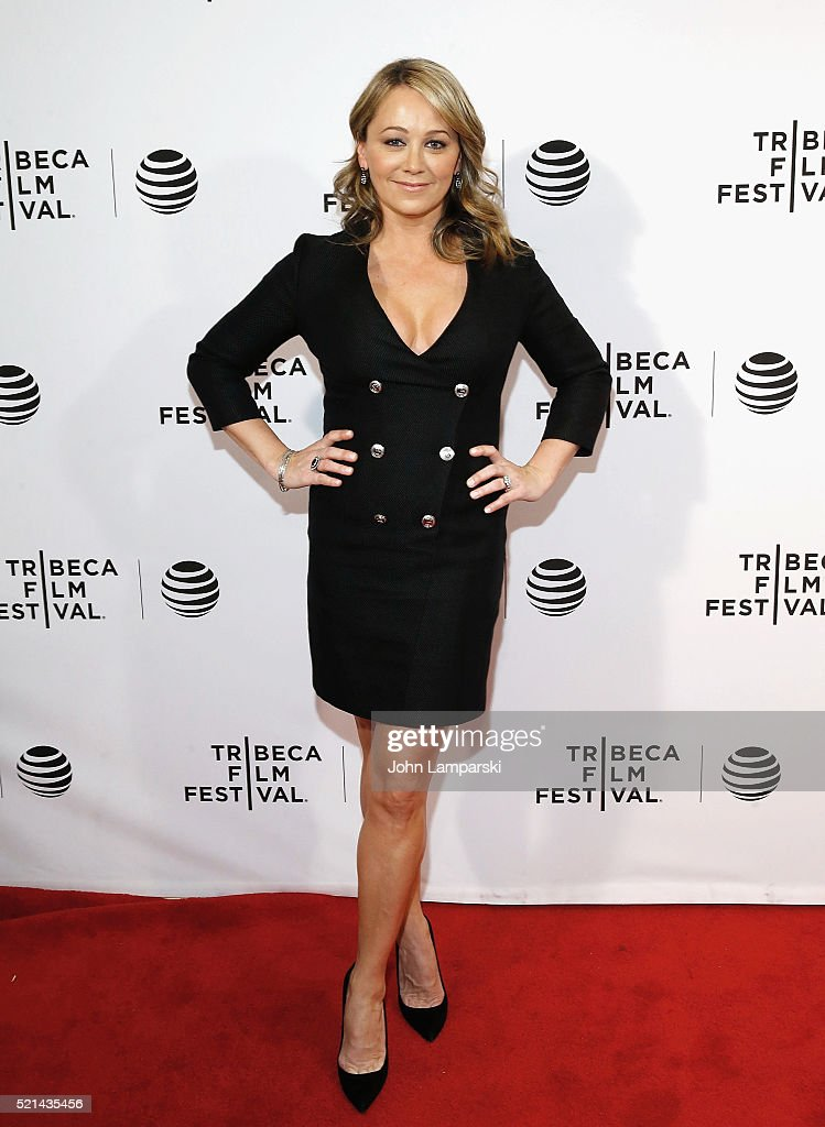 Christine Taylor attends 'Little Boxes' Premiere during the 2016 Tribeca Film Festival at Chelsea Bow Tie Cinemas on April 15, 2016 in New York City.